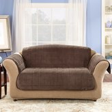 Sure Fit Deluxe Pet Cover Loveseat-Sable