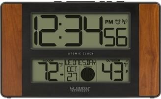 La Crosse Technology 513-1417CH Atomic Digital Clock with Temperature