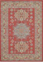 "Momeni Voyage Star Kazak Red 5'3"" x 7'6"" Area Rug"