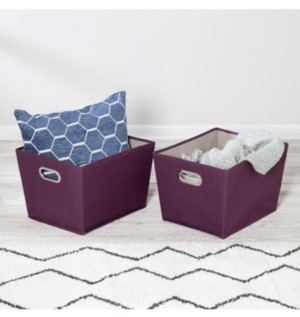 Honey-Can-Do Set of Two Medium Storage Bins