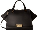 Zac Posen Eartha Iconic Jumbo Double Handle Satchel Handbags