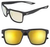 Nike Men's Bandit R 59Mm Sunglasses - Matte Black/ Gold