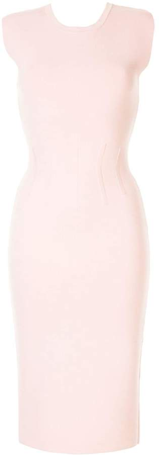 Ginger & Smart Valour fitted crepe dress
