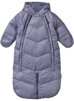 Mini A Ture Blue-Grey Convertible Snowsuit Bunting
