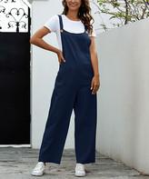 Suvimuga Women Jumpsuit Elegant Off The Shoulder Belt Pocket Long Pants Rompers