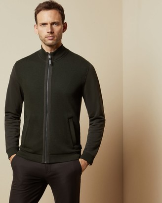 Ted Baker Zip Up Funnel Neck Jumper