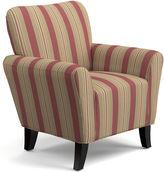 Asstd National Brand June Striped Accent Chair