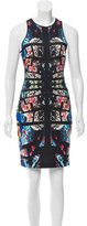 Clover Canyon Digital Print Neoprene Dress