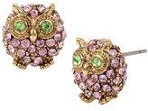 Betsey Johnson Marie Antoinette Owl Stud