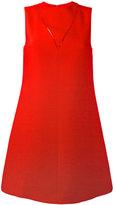 Valentino A-line crêpe dress
