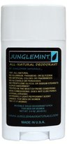 Junglemint All-Natural Deodorant, Extremely Light Mint Scent - 3.0 Ounce Stick