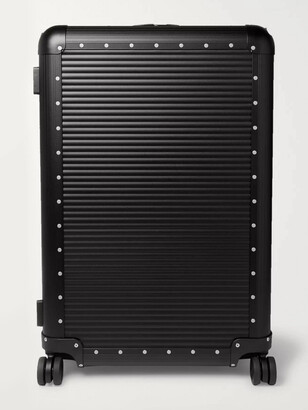 FPM Milano Spinner 76cm Aluminium Suitcase - Men - Black