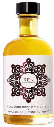 Rose Otto REN Clean Skincare Moroccan Bath Oil.