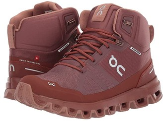 On Cloudrock Waterproof (Grape/Hazel) Women's Shoes