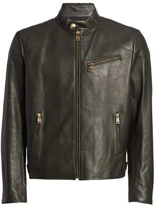 Ralph Lauren Purple Label Randall Leather Biker Jacket