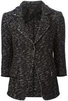 Agnona woven boucle jacket