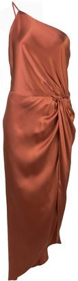 Mason by Michelle Mason twist-knot midi dress