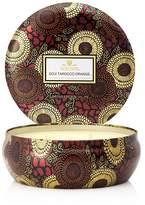 Voluspa Japonica Limited 3 Wick Decorative Goji & Tarocco Orange Tin Candle
