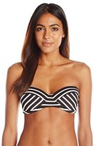 Vince Camuto Women's Shore Side Underwire Bikini Top