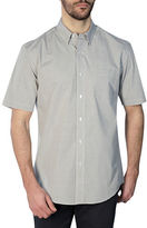 Haggar Short Sleeve Tonal Gingham Shirt