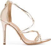 Schutz ankle length sandals - women - Leather/Patent Leather/rubber - 37