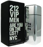 Carolina Herrera 212 Vip Eau De Toilette Spray for Men, 3.4 Ounce