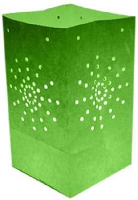 Skylantern Original Maya 1724 Paper Bag Lantern Green