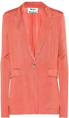 Acne Studios Jersey blazer