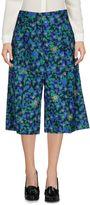 Jil Sander Navy 3/4-length shorts