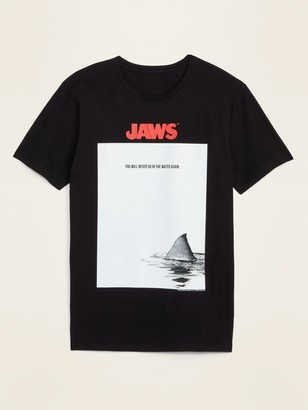 """Old Navy Jaws """"You Will Never Go in the Water Again"""" Tee for Men"""
