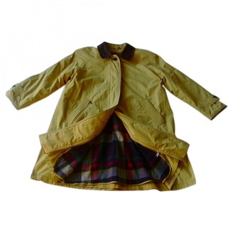 N. Non Signé / Unsigned Non Signe / Unsigned \N Yellow Cotton Coats