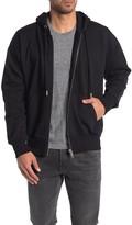 Diesel Alby Printed Zip Up Hooded Jacket
