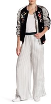 Free People Wide Leg Striped Pant