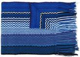 Missoni zig-zag fringed scarf