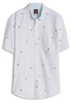 Esprit OUTLET regular fit shirt with all over print