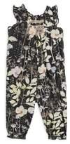 Bonpoint Baby's & Toddler's Floral-Print Cotton Jumpsuit