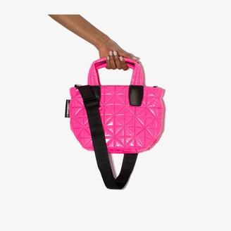 VeeCollective pink Vee mini tote bag