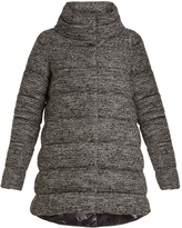 Herno Wool and cotton-blend bouclé coat