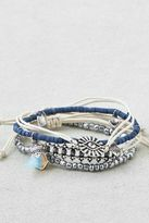 American Eagle Outfitters AE Silver & Blue Arm Party