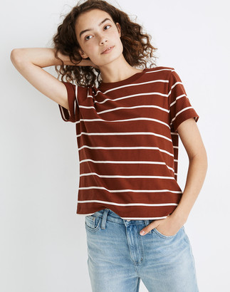 Madewell Supima Cotton Essential Tee in Pitkin Stripe