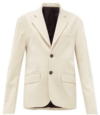 La Fetiche - Annie Single-breasted Cotton-blend Blazer - Cream