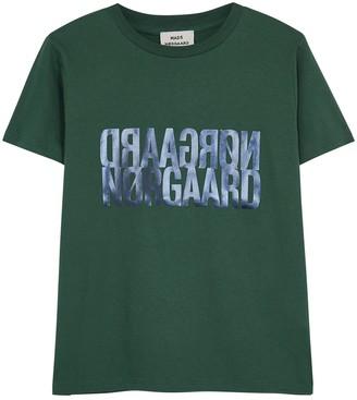 Mads Norgaard Trenda logo-print cotton T-shirt
