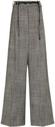 Tom Ford Prince of Wales wide-leg trousers
