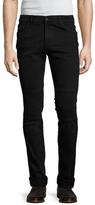 Kenzo Cotton Textured Skinny Jeans