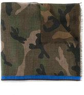Valentino Garavani Valentino camouflage scarf - men - Silk/Modal/Cashmere - One Size