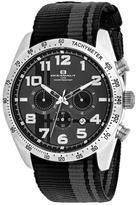 Oceanaut Milano OC3520 Men's Round Black Nylon Watch