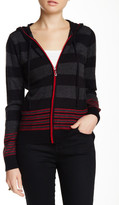 Sisters Striped Hooded Sweater