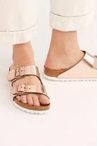 Birkenstock Arizona Metallic Sandal at Free People
