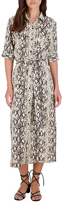 BB Dakota Hither Slither Dress (Brown) Women's Clothing