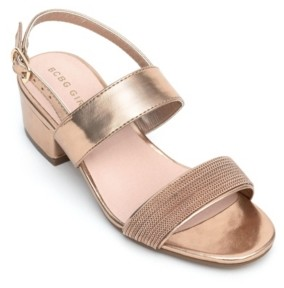 BCBGMAXAZRIA Toddler Girls Holton Dress Sandal